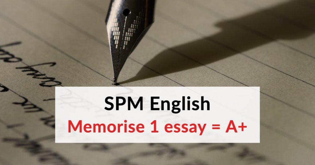 A+ English Essay